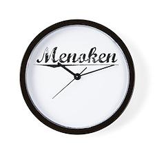 Menoken, Vintage Wall Clock