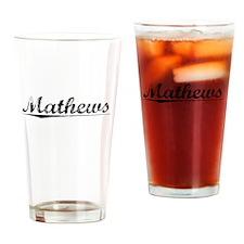 Mathews, Vintage Drinking Glass