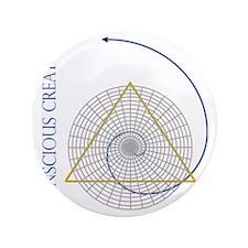 "sacred geometry fibonacci 3.5"" Button"