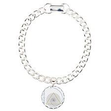 sacred geometry fibonacc Charm Bracelet, One Charm