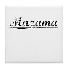 Mazama, Vintage Tile Coaster