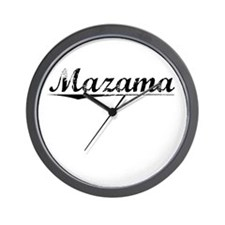 Mazama, Vintage Wall Clock