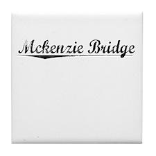 Mckenzie Bridge, Vintage Tile Coaster