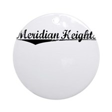 Meridian Heights, Vintage Round Ornament