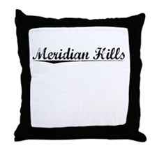 Meridian Hills, Vintage Throw Pillow