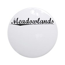 Meadowlands, Vintage Round Ornament