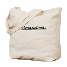 Meadowlands, Vintage Tote Bag