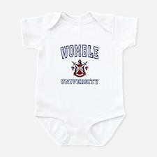 WOMBLE University Infant Bodysuit