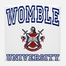 WOMBLE University Tile Coaster