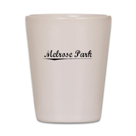 Melrose Park, Vintage Shot Glass
