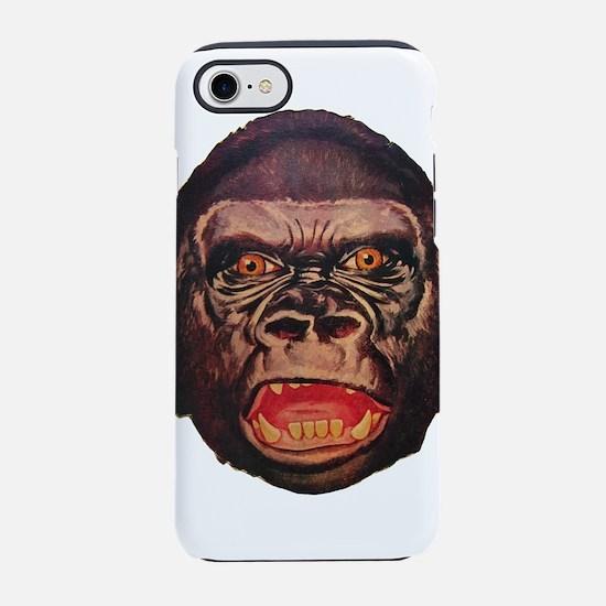 Retro Gorilla iPhone 7 Tough Case