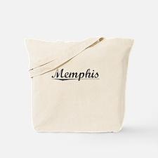 Memphis, Vintage Tote Bag
