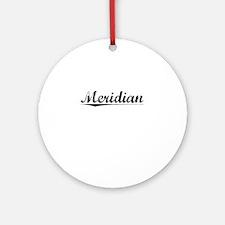 Meridian, Vintage Round Ornament