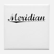 Meridian, Vintage Tile Coaster
