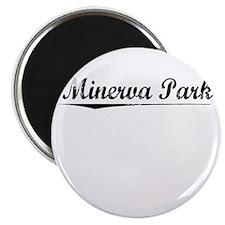 Minerva Park, Vintage Magnet