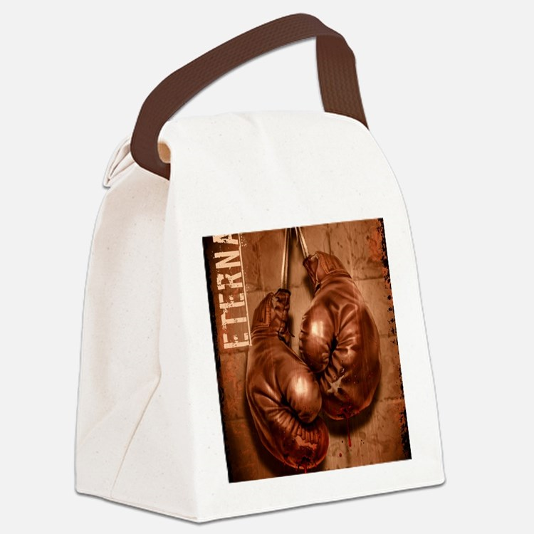 Eternal Edge-Boxing Canvas Lunch Bag
