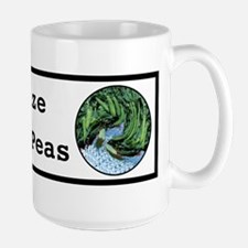 Visualize Whirled Peas Large Mug
