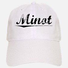 Minot, Vintage Baseball Baseball Cap