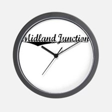 Midland Junction, Vintage Wall Clock