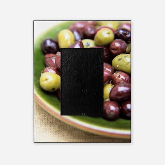 Mixed olives Picture Frame