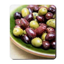Mixed olives Mousepad