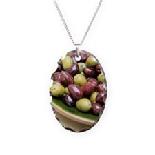 Mixed olives Necklace