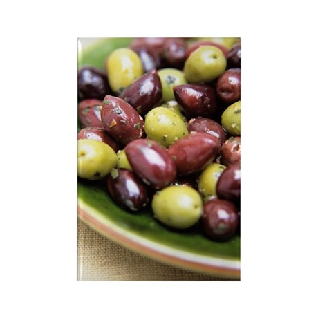 Mixed olives Rectangle Magnet