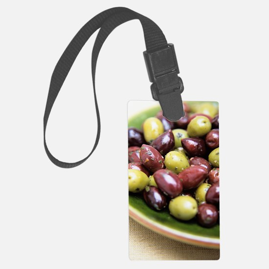 Mixed olives Luggage Tag