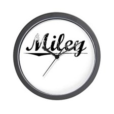 Miley, Vintage Wall Clock