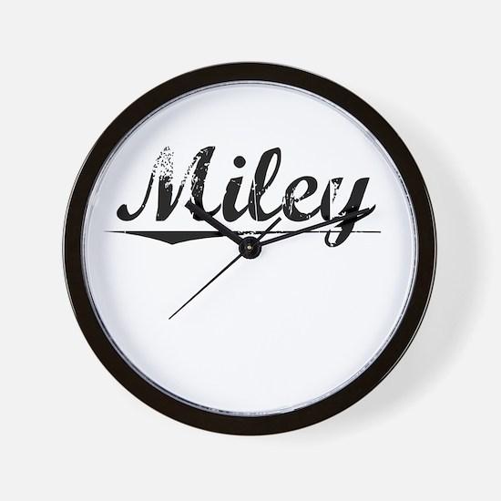 Miley, Vintage Wall Clock