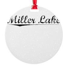 Miller Lake, Vintage Ornament