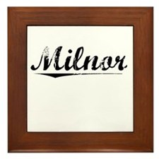 Milnor, Vintage Framed Tile