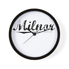 Milnor, Vintage Wall Clock