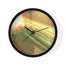 MRI scanner Wall Clock