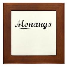 Monango, Vintage Framed Tile