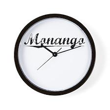 Monango, Vintage Wall Clock