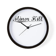 Minor Hill, Vintage Wall Clock