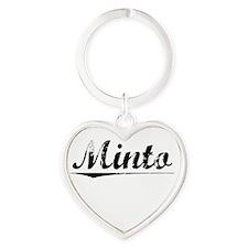 Minto, Vintage Heart Keychain