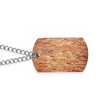 Brick wall Dog Tags