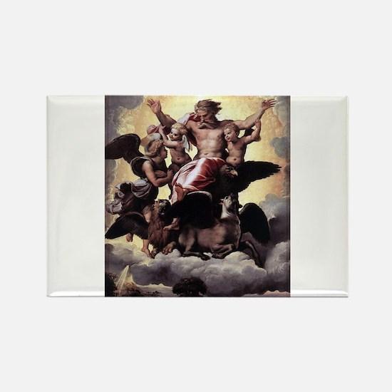 Ezekiel's Vision - Raphael Magnets