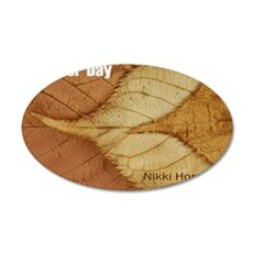 October Day CD cover 35x21 Oval Wall Decal