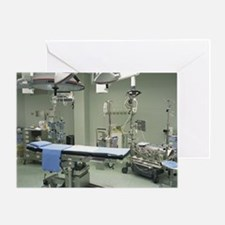 Operating theatre Greeting Card