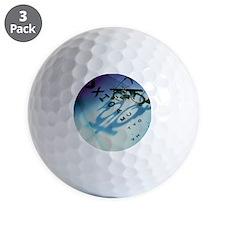 Ophthalmology test frames and eye chart Golf Ball