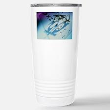 Ophthalmology test frames and e Travel Mug