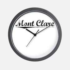 Mont Clare, Vintage Wall Clock