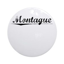 Montague, Vintage Round Ornament