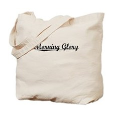 Morning Glory, Vintage Tote Bag