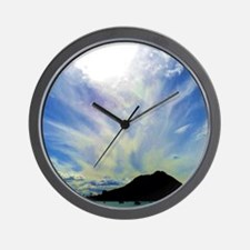 Cloudy Skys Wall Clock