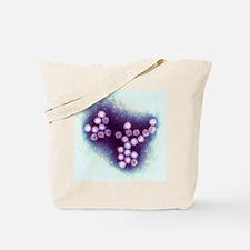 Norovirus particles, TEM Tote Bag