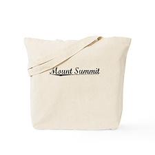Mount Summit, Vintage Tote Bag